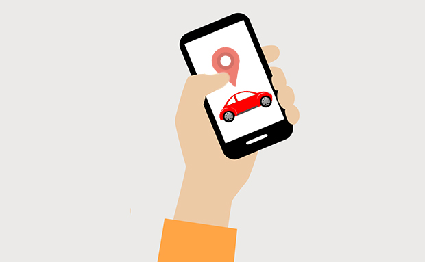 Real-time updates on vehicle location