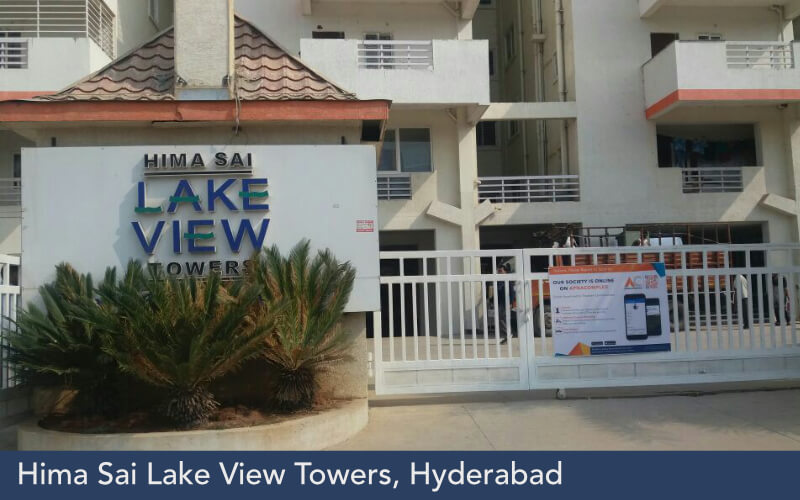 Hima Sai Lake View Towers, Hyderabad