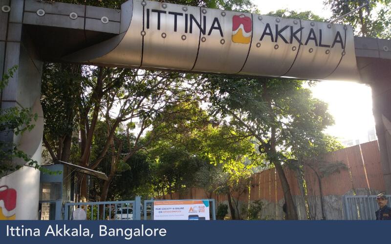 Ittina Akkala, Bangalore