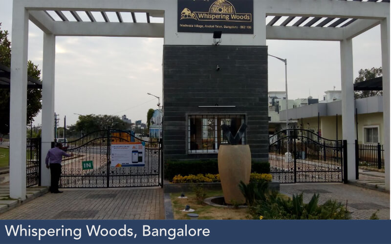 Whispering Woods, Bangalore