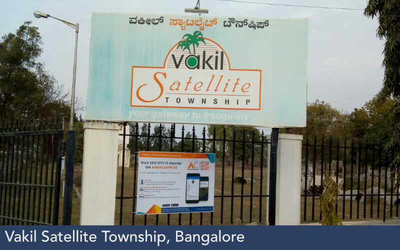 Vakil Satellite Township, Bangalore