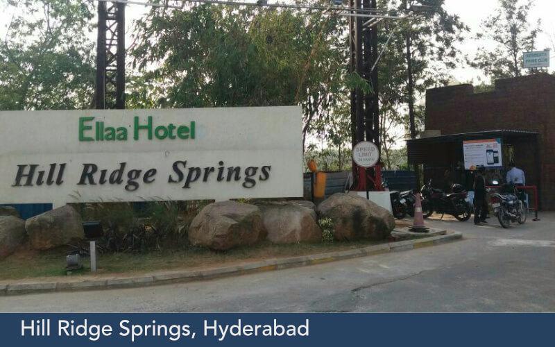 Hill Ridge Springs, Hyderabad