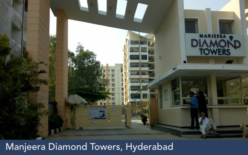 Manjeera Diamond Towers, Hyderabad