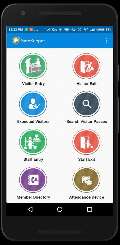 Gatekeeper App Screenshot